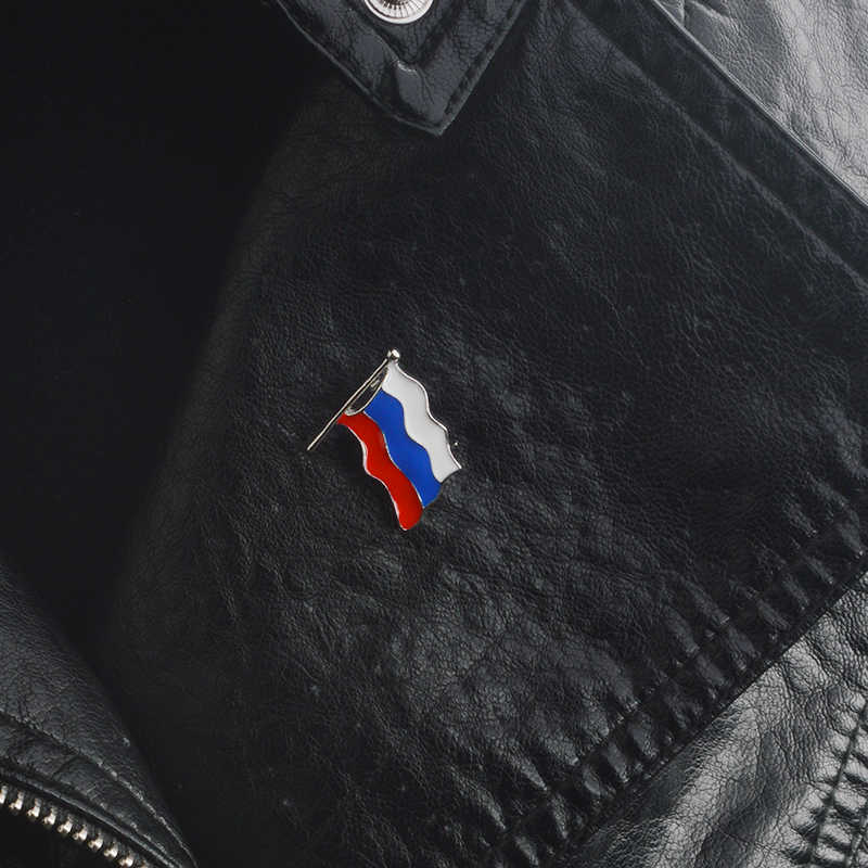 روسيا دبوس معدني على شكل راية الصلب دبوس ملابس أشكال مختلفة شارات جاكيتات ظهره الجينز مجوهرات اكسسوارات للنساء الرجال الروسية