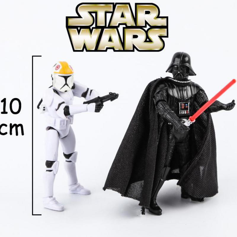 Star Wars Darth Vader Trumpet Joint Movable Ornaments Movie Anime Figure Action & Toy Figures Figures Model