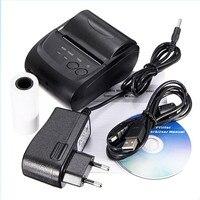 Carprie New USB Mini 58mm Bluetooth Wireless Mobile POS 5802 Thermal Receipt Printer 17Sep01 Dropshipping