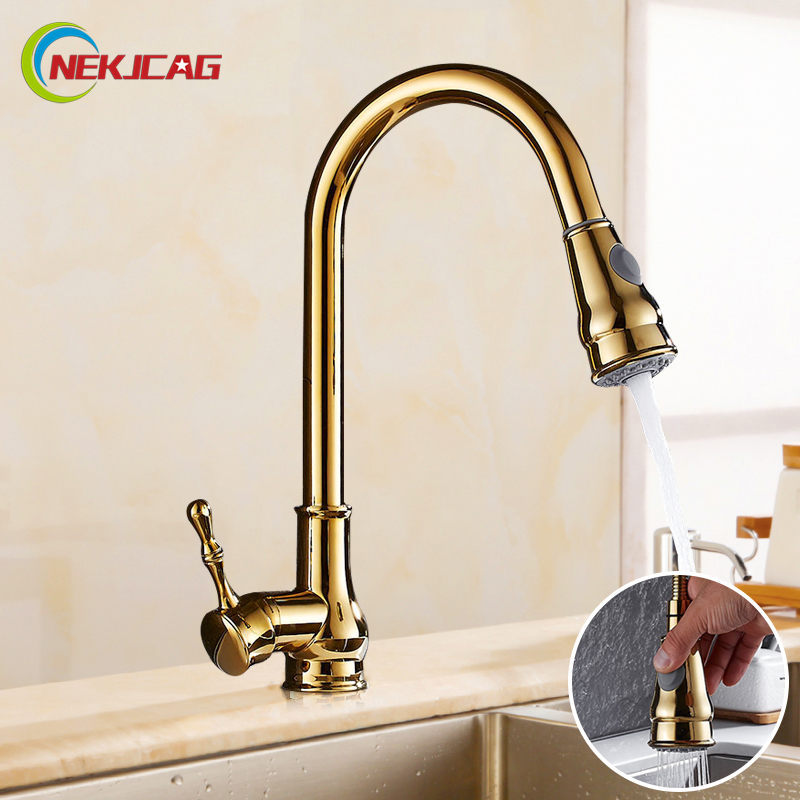 Kitchen Sink Outlet: Aliexpress.com : Buy Luxury Golden Hot And Cold Faucet