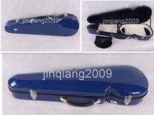 4/4 violine Fiber Glass Strong Light Inside ist Weicher samt material3-5dark blau