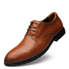 2016 men's leather shoes, fashion shoes, pure hand-made, black and brown two colorsComfortable personalized men's shoes NY070A