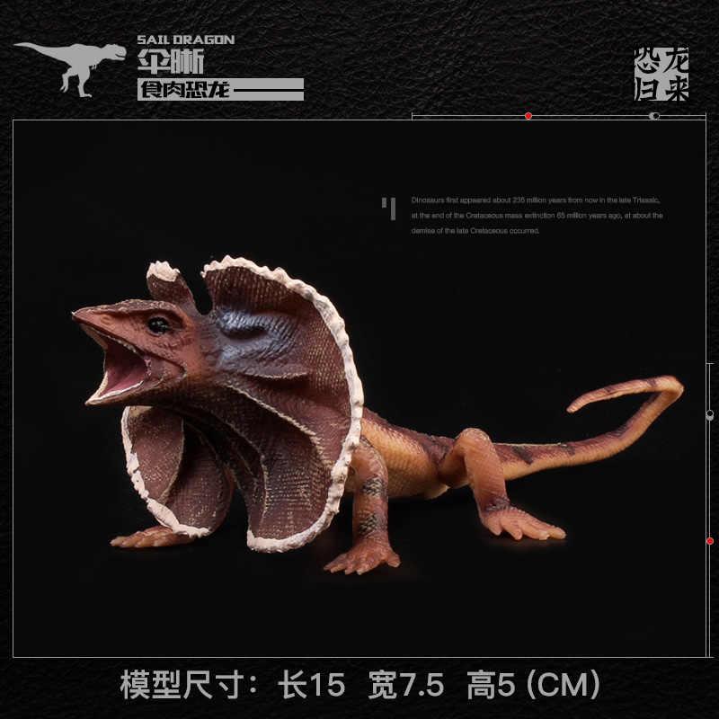 Simulation Children's Solid Reptile Toy Model  Reptilian Creeper Crawler Lizard Cabrite Saurian Dinosaur Figurines Animal gifts