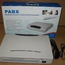 Телефон PBX система с 4 линиями x 16 расширения/PABX офисная телефонная система