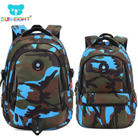 Fashion Camouflage Kid Backpack Bag School Bags Travel Backpack Bags For Cool Boy And Girl