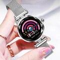 Женские спортивные Смарт-часы CHENXI  спортивные водонепроницаемые часы из нержавеющей стали со светодиодной подсветкой  высокое качество