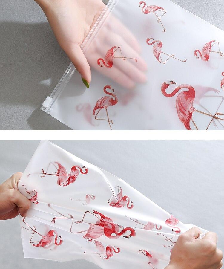 Soomile-Transparent-multi-purpose-waterproof-sealed-travel-bag-Flamingo-EVA-Travel-Organizer-Clothes-and-shoes-sorting-bags-NEW_08