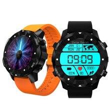 Três anti Relógio Inteligente Internet WIFI Bluetooth Chamadas de Cartão de Coração taxa de Smartwatch GPS Localizar 3G Móvel 1G/16G à prova d' água Andrews