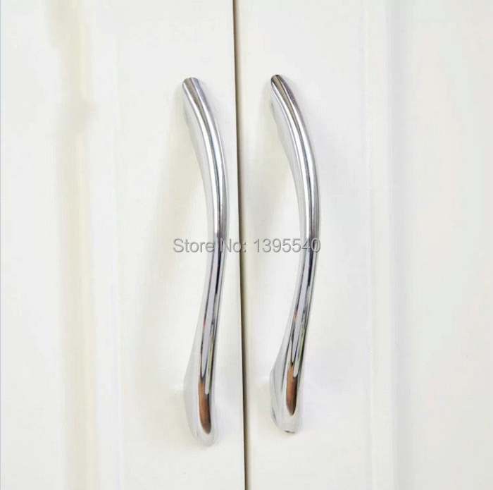 New 2pcs 128mm Solid Cool S Types Zinc Alloy Kitchen Cabinet Cupboard Handle Children Closet Dresser Drawer Pulls Shoed Box Pull