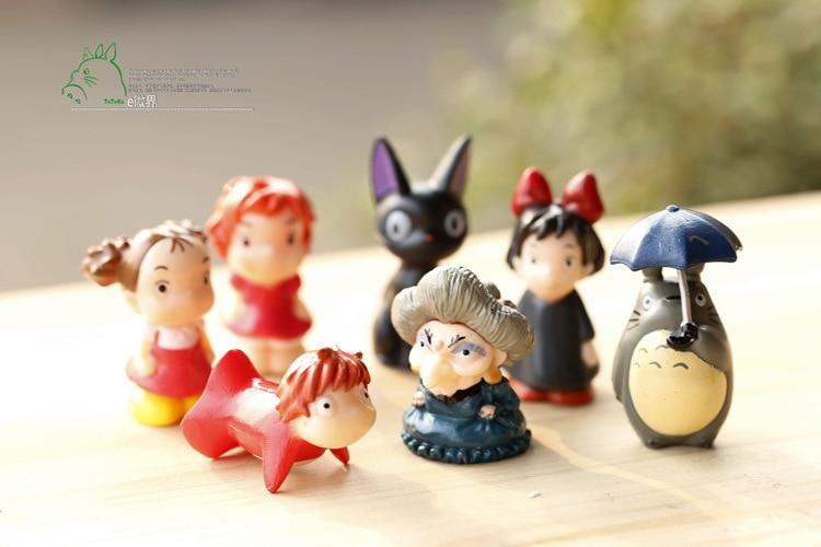 Baby Gift Set Totoro : Best sale toy set pcs hayao miyazaki totoro cartoon