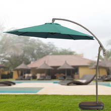 Feng round outdoor patio umbrellas 3 m parasol umbrella banana push Cheap with packages