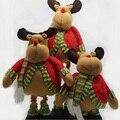 Рождественский выдвижной олень декоративные предметы сцена реквизит Рождество лося настроить высокий жир кукла прекрасный подарок