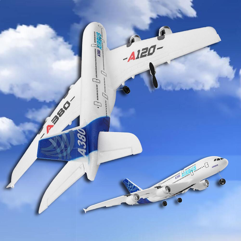 XK A120 envergure 2.4 GHz 3CH RC avion modèle aile fixe avec jouet émetteur