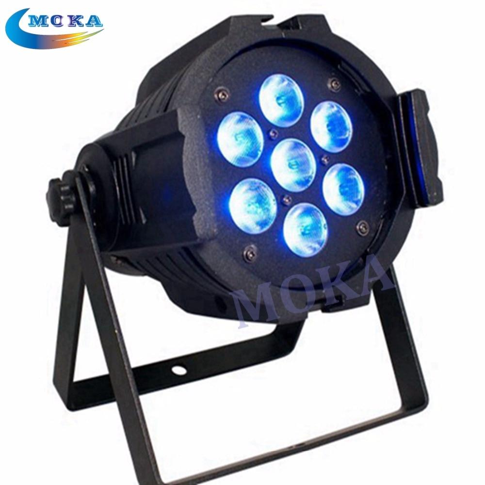 2Piece/lot 7*10w rgbw 4in1 led par light 7*10W LED Mini PAR Light LED PAR64 led par lights цена