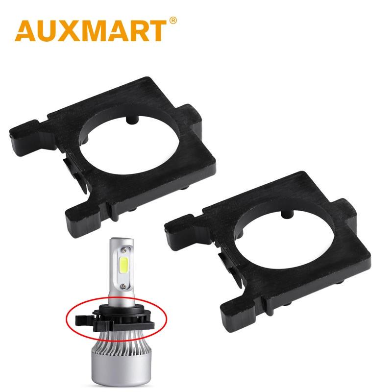 H7 Headlight Bulb Socket : Auxmart for ford focus h led holder adapter socket car