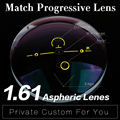 Extra fee for 1.61 Progressive Lens Aspheric Anti Reflective Multi-focal Lens HMC Graduated Progressive Addition Varifocal Lens
