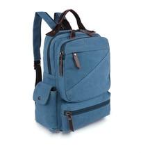 Vintage Men Canvas Backpack Mochila School Bags For Teenagers Boys Girls Casual Travel Backpack Laptop Bag стоимость