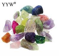 Womens Jewelry Finding DIY Jewelry Beads 20PCs Natural Quartz Stone Agate Amethyst Mixed No Hole Quartz