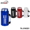 Pivot - Universal Aluminum Alloy Reservoir Oil Catch Can Tank color :red,blue,black,silver  TK-JYH03D1