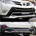 Positive + Abs board rear bumper bumper protector for the Toyota RAV4 2013 at the end of 2014