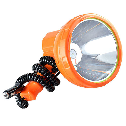 JUJINGYANG 12v 1000m fishing lamp ,50W led light Vehicle - mounted LED searchlight,Super bright portable spotlight