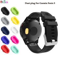 dust plug For Garmin Fenix 5 smart watch Quality protection increases texture multiple colour pcs/lot