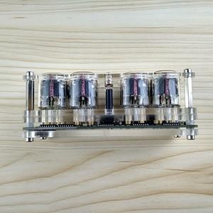 Image 5 - 4 ビット統合グロー管時計IN 12A IN 12B時計グロー管カラフルなled DS3231 ニキシー時計ledバックライト