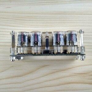 Image 5 - 4 битные интегрированные светящиеся трубки, часы, фотографические светящиеся трубки, цветсветодиодный светодиодные часы DS3231 nixie, светодиодная подсветка, новинка