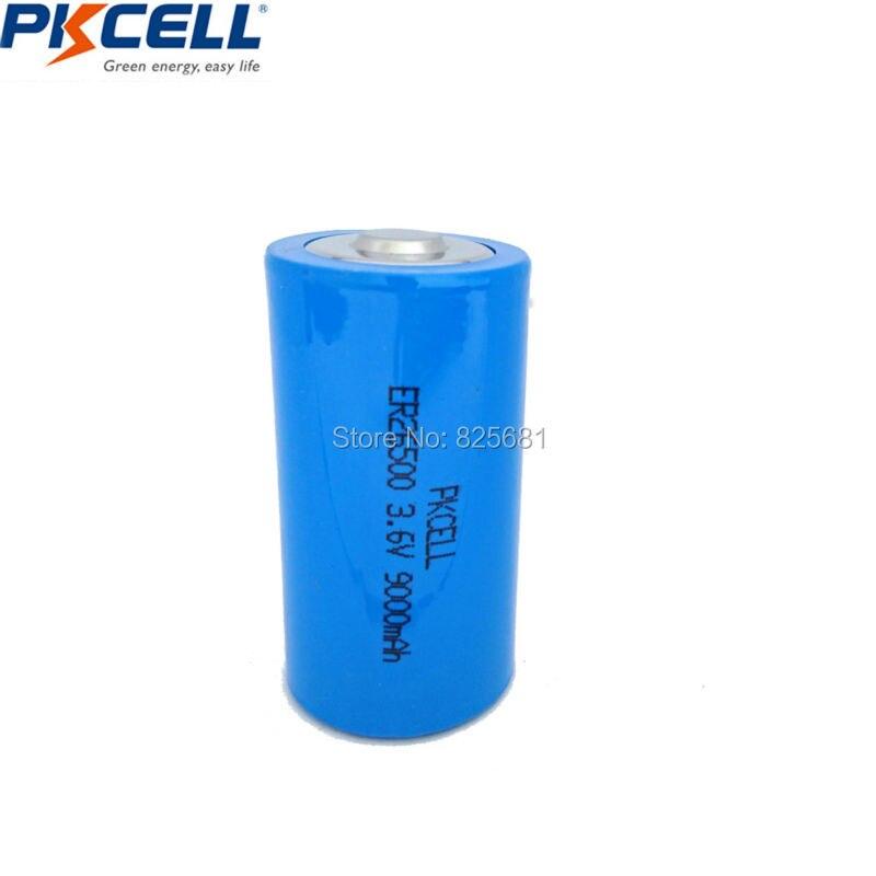 30Pcs 26500 ER26500 3 6V 9000mAh Battery Lithium Li SOCl2 C ER 26500 9A Batteria Superior