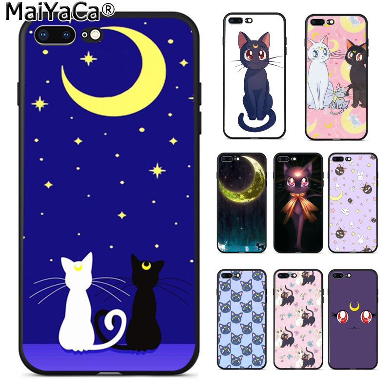 The cat and the moon iPhone 11 case