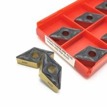 10PCS New High quality carbide inserts DNMG150608 PM 4225 external metal turning tools CNC parts lathe tool