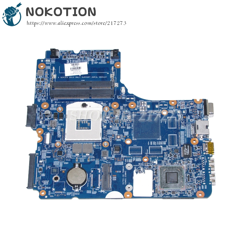 NOKOTION 721523-501 721523-001 For HP Probook 440 450 Laptop Motherboard 48.4YZ31.011 HM76 UMA DDR3 683495 001 for hp probook 4540s 4441 laptop motherboard pga989 hm76 ddr3 tested working