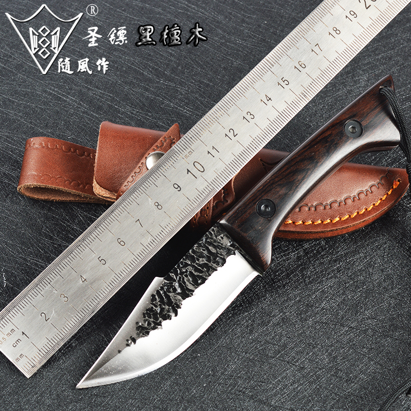 Very sharp Handmade  small tool/ outdoor equipment/ fruit tactical hunting knife Necessary for survival in the wild outlife new style professional military tactical multifunction shovel outdoor camping survival folding spade tool equipment
