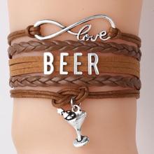 Infinity Love Beer Bracelet