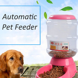 Pet Automatic Feeder Water Drinking Fountain 3.5L Cat Dog Intelligent Feeding Vessels Animal Pet Bowl Water Bowl