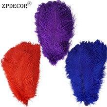 16-18 дюймов 40-45 см Frist-grade страусиное перо для украшение ручной работы изготовление