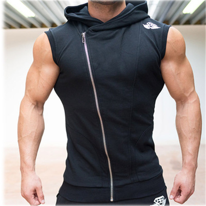 Popular Sleeveless Fitness Hoodie-Buy Cheap Sleeveless Fitness ...