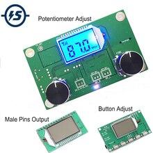 Odbiornik FM moduł bezprzewodowa modulacja częstotliwości moduł radiowy FM radio cyfrowe tablica odbiorcza moduł radiowy dla majsterkowiczów