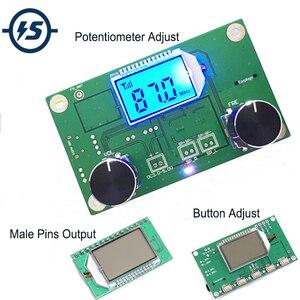 FM Receiver Module Wireless Frequency Modulation FM Radio Module Digital Radio Receiver Board Radio Module For DIY