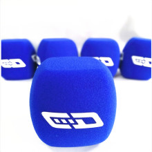 Linhuipad Broadcast Foam Microphone Windscreen Sponge Mic Cover Windshields for Handheld Interview microphones 4cm diameter