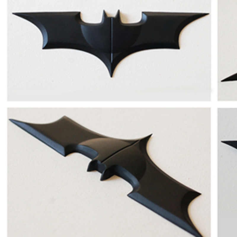 2017 NECA DC Comics Batman Arkham Bat Dark Knight 10 เซนติเมตรโลหะ Batarang รูปจำลองของเล่นสะสมสำหรับคอสเพลย์