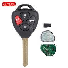 Keyecu Remote Car Key Fob 315MHz G Chip Keyless Entry for Toyota Corolla Avalon 2010 2011 2012 2013 FCC: GQ4-29T