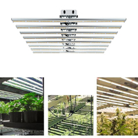 2019 Phlizon samsung 640W led grow light bar Grow Led 8 Band for indoor garden medical plants growing Waterproof Led Grow Light