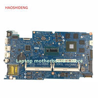 HAOSHIDENG CN 0M1FGY 0M1FGY mainboard For Dell Inspiron 7537 15 7537 motherboard With CPU I5 4200U GT750M GPU fully Tested