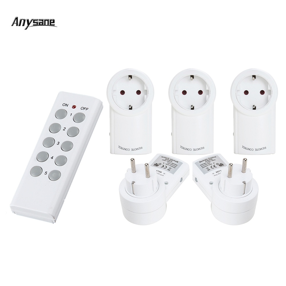 Universal remote control power socket learning remote 433 mhz wireless smart switch smar ...