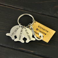Fishing Keychain, Father's Day Gift, Gift for Dad, Personalized Keychain, Father's Day Keychain, Fish Keychain