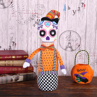 Halloween Home Decoration Skull Doll Party Table Decoration Cute Skeleton Toy Halloween Holiday Gift