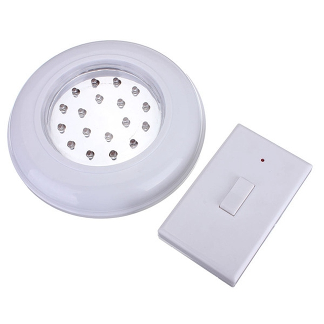 High quality 18 led wireless cordless ceiling wall light with remote high quality 18 led wireless cordless ceiling wall light with remote control switch stair closet lamp aloadofball Images