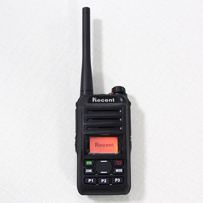 dPMR Professional 3W Digital Radio RS309D Walkie Talkie 256 Saluran Clear Voice LCD Display Professional Radio Transceiver