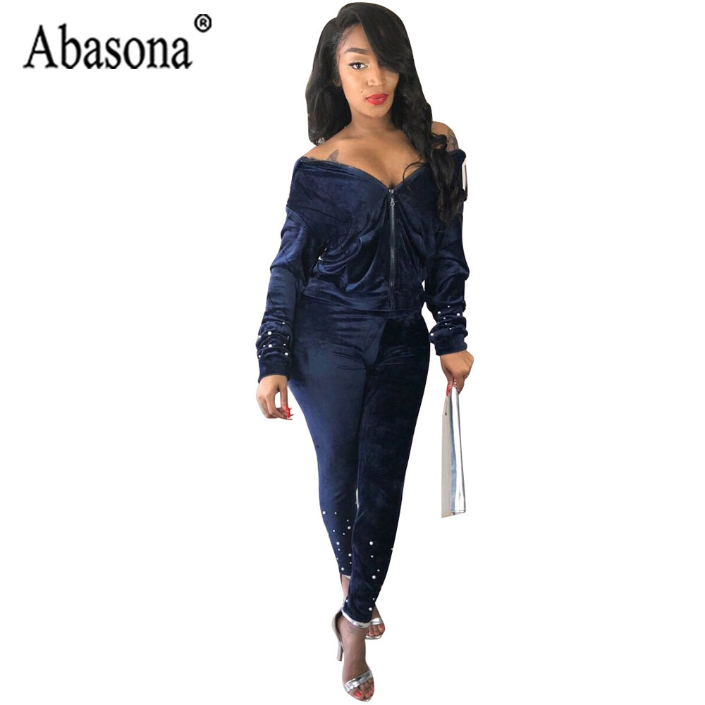 Abasona Summer Sport Suit Sexy Club Bodysuit Tracksuit Rompers Womens Jumpsuit Patchwork Print Hooded Straight Overalls Femme Women's Clothing
